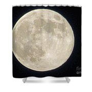 Thunder Moon Shower Curtain