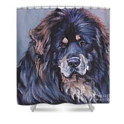 Tibetan Mastiff Shower Curtain