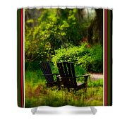 Time For Coffee Shower Curtain by Susanne Van Hulst
