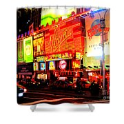 Times Square - New York Shower Curtain