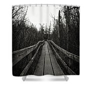 To Infinity Shower Curtain