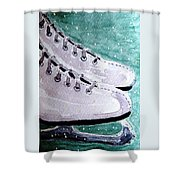 To Skate Shower Curtain