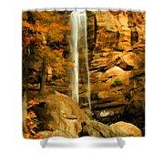 Toccoa Falls Shower Curtain