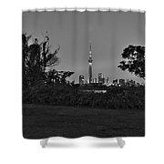 Tokyo Skytree F Shower Curtain
