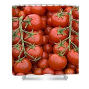 Tomato On The Vine Shower Curtain