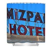 Tonopah Nevada - Mizpah Hotel Shower Curtain
