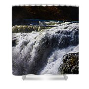 top of the Falls Shower Curtain