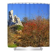 Torcal Natural Park Shower Curtain
