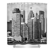 Toronto On Skyline Shower Curtain