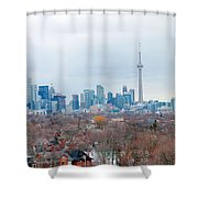 Toronto View Shower Curtain