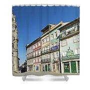 Torre Dos Clerigos Porto Portugal Shower Curtain