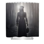 Towards The Light Shower Curtain