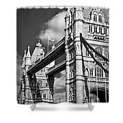 Tower Bridge In London Shower Curtain