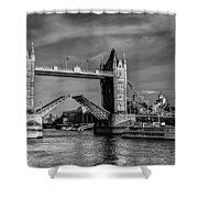 Tower Bridge Vintage Shower Curtain