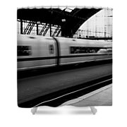 Train Station, Cologne, Germany Shower Curtain