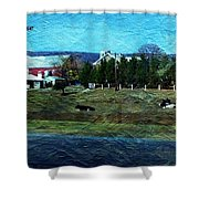 Travel As A Painting Shower Curtain