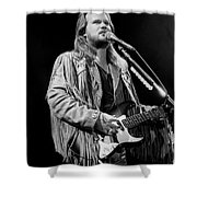 Musician Travis Tritt   Shower Curtain