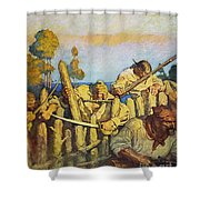Treasure Island, 1911 Shower Curtain