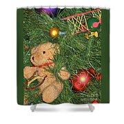Tree Of Toys Shower Curtain