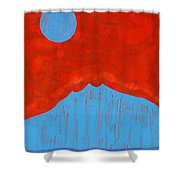 Tres Orejas Original Painting Shower Curtain