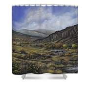 Tres Piedras Shower Curtain