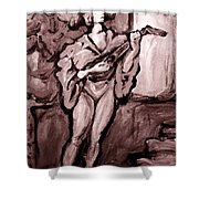 Troubadour Shower Curtain