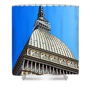 Turin Mole Antonelliana Shower Curtain