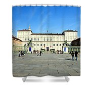Turin Palazzo Reale Shower Curtain