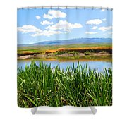 Turkey Countryside Shower Curtain