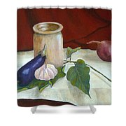 Tuscan Table Shower Curtain