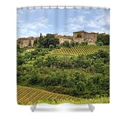 Tuscany - Castelnuovo Dell'abate Shower Curtain