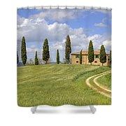 Tuscany - Pienza Shower Curtain