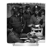 Tuskegee Airmen, 1945 Shower Curtain by Granger