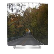 Twice The Speed Of Autumn Shower Curtain