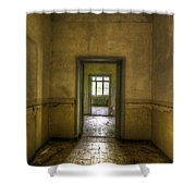 Two Doors Shower Curtain