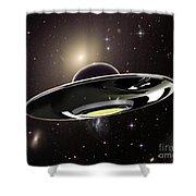 Ufo Shower Curtain