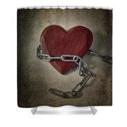 Unchain My Heart Shower Curtain