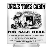 Uncle Tom's Cabin, C1860 Shower Curtain