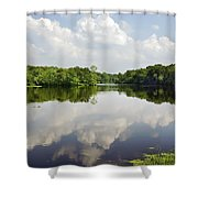 Unicorn Lake Shower Curtain