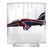 Union Jack Hawk Shower Curtain
