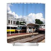 Union Station Dallas Texas Shower Curtain
