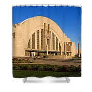 Union Terminal, Cincinnati Shower Curtain