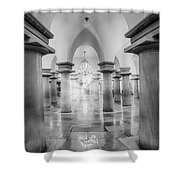 United States Capitol Crypt Shower Curtain