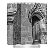 University Of Sydney-door Shower Curtain