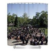 University Of Virginia Graduation Shower Curtain
