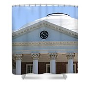 University Of Virginia Rotunda Shower Curtain