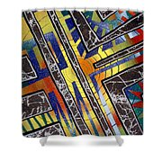 Untitled Shower Curtain by Tanya Hamell