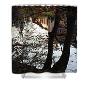 Up River Shower Curtain
