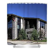 Upj Blackington Hall Shower Curtain