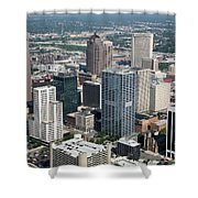 Uptown District Shower Curtain